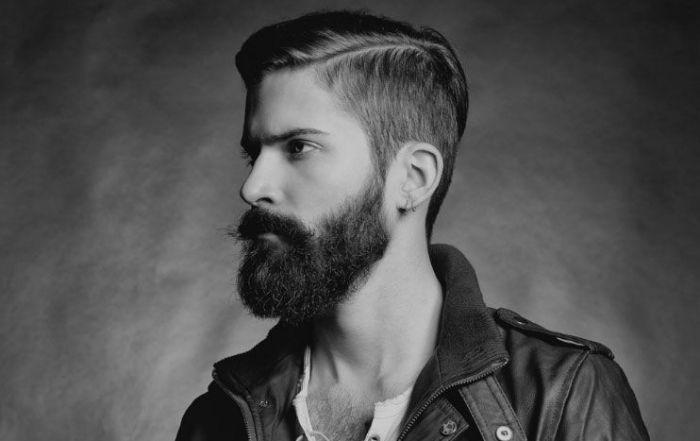 hipster uomo barba