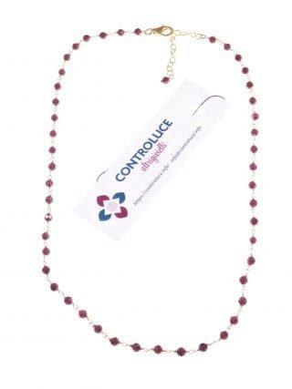 girocollo choker granati rosario