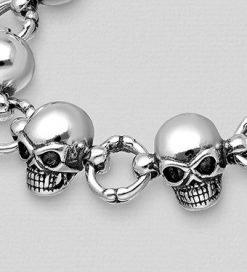 braccialetto skull