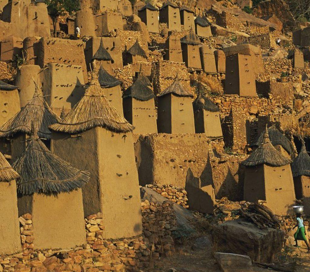 Mali, Mopti, Pays Dogon, Sanga - Banani village